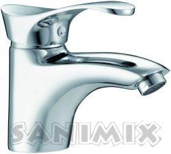 Sanimix OMEGA mosdó csaptelep automata leeresztővel (034.1 1)