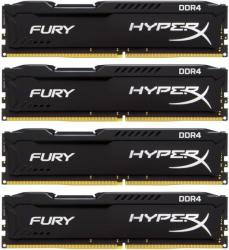 Kingston HyperX FURY 16GB (4x4GB) DDR4 2400MHz HX424C15FBK4/16