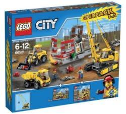 LEGO City - Bontási terület Szupercsomag 3 az 1-ben (66521)