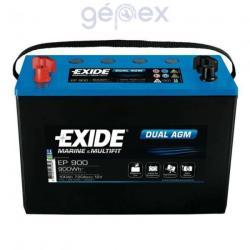 Exide DUAL AGM 100Ah 720A Jobb+ (EP900)