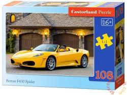 Castorland Ferrari F430 Spider sportautó 108 db-os (B-010035)