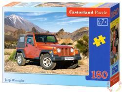 Castorland Jeep Wrangler terepjáró 180 db-os (B-018017)