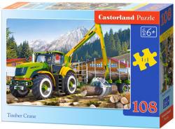 Castorland Rönkszállító markológép 108 db-os (B-010059)