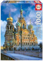 Educa Krisztus feltámadása székesegyház,Szentpétervár 1000 db-os (16289)