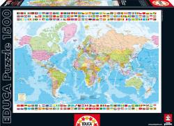 Educa Világtérkép 1500 db-os (16301)