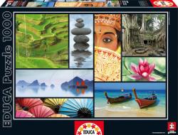 Educa Ázsia színei 1000 db-os (16294)