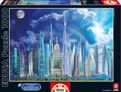 Educa A világ legmagasabb épületei 1000 db-os (16287)