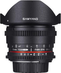 Samyang 8mm T3.8 CSII HD VDSLR MKII (Canon)