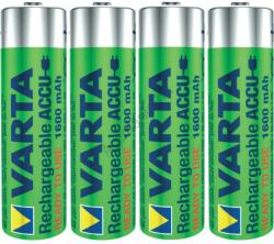 VARTA Rechargeable Accu AA 1600mAh (4)