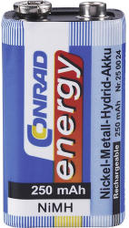 Conrad energy 9V 250mAh (1)