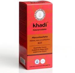 Khadi Hajfesték Por Vörös