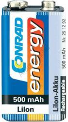 Conrad energy 9V 500mAh (1)
