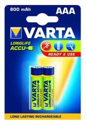 VARTA AAA Longlife Accu 800mAh (2)