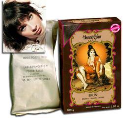 Henné Color Hajszínező Por Barna 100g