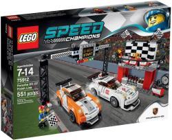 LEGO Speed Champions - Porsche 911 GT célvonal (75912)