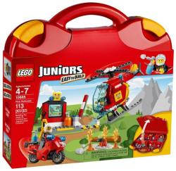 LEGO Juniors - Tűzoltó játékbőrönd (10685)