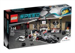 LEGO Speed Champions - McLaren Mercedes boksz (75911)