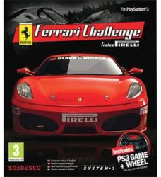 System 3 Ferrari Challenge Trofeo Pirelli [Wheel Bundle] (PS3)