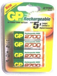 GP Batteries AA 2700mAh (4)