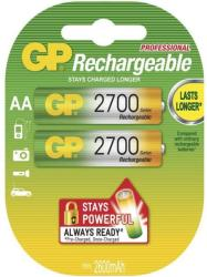 GP Batteries AA 2700mAh (2) GP-BR-R6-2700mA