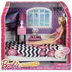 Mattel Barbie - Szoba babával - Hálószoba 2015 (CFB60)