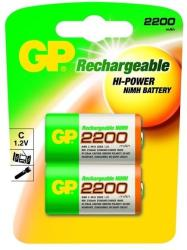 GP Batteries C Baby 2200mAh (2) GP-220CH-C2