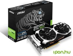 MSI GeForce GTX 960 OC 2GB GDDR5 128bit PCIe (GTX 960 2GD5T OC)