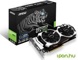 MSI GeForce GTX 960 OC 2GB GDDR5 128bit PCIe (GTX 960 2GD5T OC)