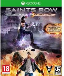 Deep Silver Saints Row IV Re-Elected & Gat Out of Hell (Xbox One)