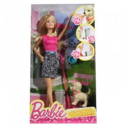 Mattel Barbie - Kutyagondozó játékszett 2015 (CFN43)