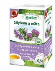Herbex Máriatövis És Menta Tea 20 Filter