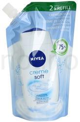 Nivea Creme Soft Tusfürdő Utántöltő 500ml