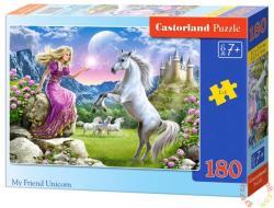 Castorland A hercegnő és az unikornis 180 db-os (B-018024)