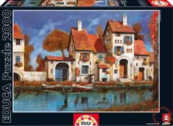 Educa Gazdaság a tónál - Guido Borelli 2000 db-os (16316)