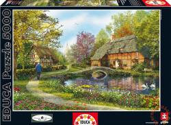Educa Nádfedeles kunyhók 5000 db-os (16356)