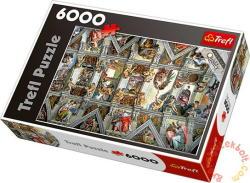 Trefl Sixtus-kápolna 6000 db-os (65000)
