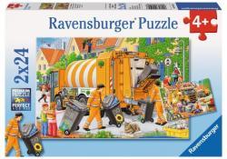 Ravensburger Kukásautó 2x24 db-os (34074)