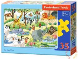 Castorland Az állatkertben 35 db-os