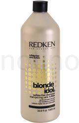 Redken Blonde Idol szulfátmentes sampon szőke hajra (Sulfate-Free Shampoo) 1000ml