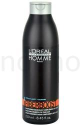 L'Oréal Homme Care sampon finom és sérült hajra (Fiberboost Shampoo) 250ml