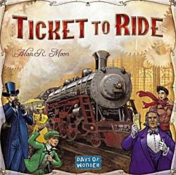 Days Of Wonder Ticket to Ride - Vasúti kalandok Amerikán át