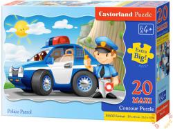 Castorland Rendőrségi őrjárat 20 db-os (C-02252)