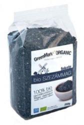 GreenMark Organic Fekete bio szezámmag (250g)