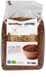 GreenMark Organic Barna bio lencse (500g)