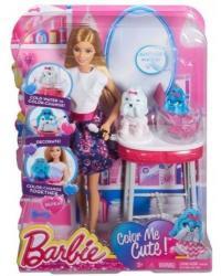 Mattel Barbie - Kutyusszínező szalon 2015 (CFN40)