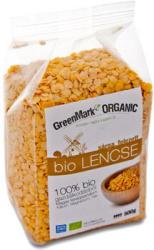 GreenMark Organic Sárga felezett bio lencse (500g)