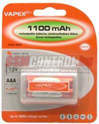 Vapex AAA 1100mAh (2)