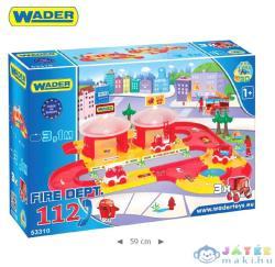 Wader Kid Cars 3D Tűzoltósági 112 autópálya 53310