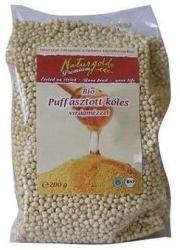 Naturgold Bio puffasztott mézes köles (200g)