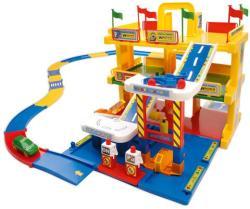 Wader Kid Cars 3D 3 szintes garázs játszóterülettel 50400